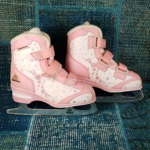 Jackson SoftTec Ice Skates Size 1 w/ 7 2/3 Blades
